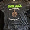 1987 Overkill Christmas on Speed Live Shirt