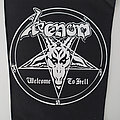 "Venom - Patch - Venom ""Welcome to Hell"" backpatch"