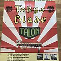 Tokyo Blade / Talon / Railway - Metal Hammer Tournee 1985 - Tour Poster + Band Photos and Articles (German Only)