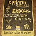 Exodus - Other Collectable - Dynamo Open Air '88 - Festival Poster