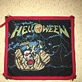 Helloween - 1st EP Red Border Patch