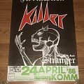 Stormwitch - Other Collectable - Stormwitch / Killer / Stranger - Young Blood Metal Tour '86 - Poster