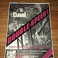 D.A.M. / Grinder / Sabbat - 1991 Promo - Advertisement Other Collectable