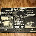 Solitude Aeturnus - Advertisement and Promo Poster Other Collectable