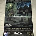 Deceased - The Blue Prints Of Madness - Relapse Records - Promotional Poster (Autographed) + Band Pin-Up
