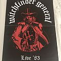 Witchfinder General - Other Collectable - Witchfinder General - Live '83 Poster