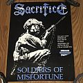 Sacrifice - Soldiers Of Misfortune - Metal Blade Records- Promotional Poster