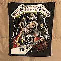 Metallica - Ride The Lightning-Era back patch