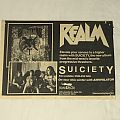 Realm - Suiciety Advertisement  Other Collectable