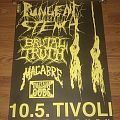 Pungent Stench / Brutal Truth / Macabre - German Concert - Poster Other Collectable