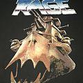 """Rage - """"Secrets In A Weird World"""" European Tour '90 shirt"""