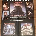 Chastain - The Voice Of The Cult - Leviathan Records - Promo Poster Other Collectable