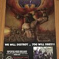 Dekapitator - We Will Destroy... You Will Obey!!! - BlackMetal.com - Promotional Poster