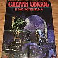 Cirith Ungol - One Foot In Hell - Metal Blade Records - Promo Poster