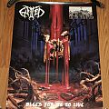 Gutted - Other Collectable - Gutted - Bleed For Us To Live - Red Light Records - Promotional Poster