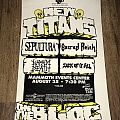 New Titans Of The Block Tour 1991 - Sacred Reich / Sepultura / Sick Of It All / Napalm Death - Denver, Colorado
