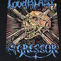 Loudblast - TShirt or Longsleeve - Loudblast / Agressor - License To Thrash Split shirt
