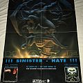 Sinister - Hate - Nuclear Blast Records - Promotional Poster Other Collectable