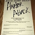 Harter Attack - Human Hell - Advertisement Other Collectable