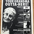 Num Skull - Other Collectable - Wrath - Fit of Anger/Num Skull - Ritually Abused - Advertisement