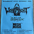 Wehrmacht - Other Collectable - Wehrmacht - Protector - Mega Mosh - Biermacht Over Germany 1989 - Tour Poster