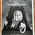 Re-animator - Other Collectable - Re-Animator - Condemned to Eternity - Advertisement