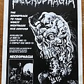 Necrophagia - Other Collectable - Necrophagia - Season of the Dead - Advertisement