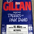Gillan - Other Collectable - Gillan / Tygers of Pan Tang - Double Trouble Tour - Poster