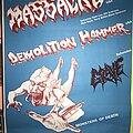 Massacre - Other Collectable - Massacre / Demolition Hammer / Grave - European Tour - Posters