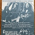 Sodom - Other Collectable - Sodom - Tapping the Vein - Japan Tour 1992 - Flyer