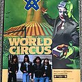 Toxik - Other Collectable - Toxik - World Circus - Promo Posters + Ad
