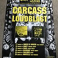 Carcass - Other Collectable - Carcass / Loudblast - French Tour - Poster
