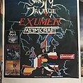 Nasty Savage - Other Collectable - Nasty Savage - Exumer - Atomkraft - European Blitzkrieg Tour '88 - Poster