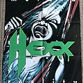 Hexx - Other Collectable - Hexx - Morbid Reality- Promo Poster + Advertisement