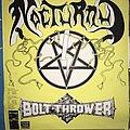 Nocturnus - Other Collectable - Nocturnus / Bolt Thrower - German Tour 1990 - Poster
