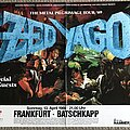 Zed Yago - Other Collectable - Zed Yago - The Metal Pilgrimage Tour '89 - German Concert Poster + Metal Hammer...