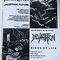 Devastation - Other Collectable - Devastation - Advertisements + Promo Poster