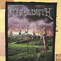 Megadeth - Youthanasia Backpatch