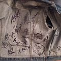 signed vest Battle Jacket