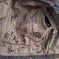 signed vest Battle Jacket