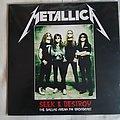 Metallica bootleg lp ,live in 1989