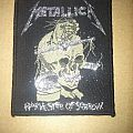 "Metallica- ""Harvester Of Sorrow"" Woven Patch"