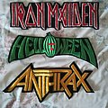 Iron Maiden - Patch - long metal patches from the 90's