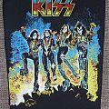 KISS Destroyer vintage backpatch