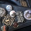URFAUST - Pin / Badge - the buttons on my leather
