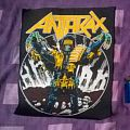 Anthrax judge death (among the living) backpatch