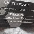 All shall fall diecast box Tape / Vinyl / CD / Recording etc