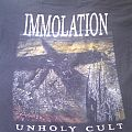 TShirt or Longsleeve - Immolation unholy cult tourshirt