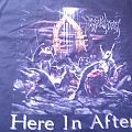 Immolation - Here in After Tourshirt