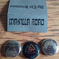 Manilla road buttons Pin / Badge